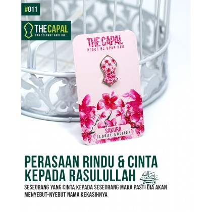 Press Pin Sakura