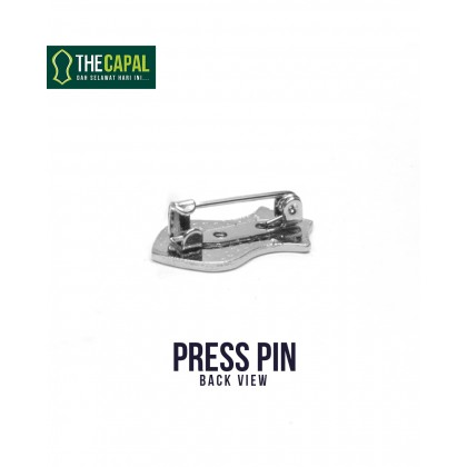Press Pin Dark Pink