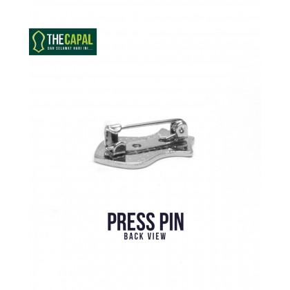 Press Pin Lime