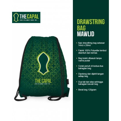 Drawstring Bag Mawlid