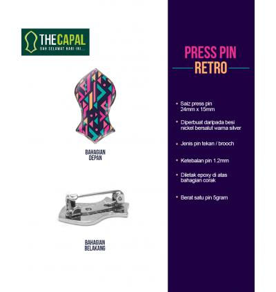 Press Pin Retro