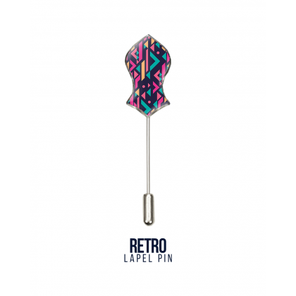 Lapel Pin Retro