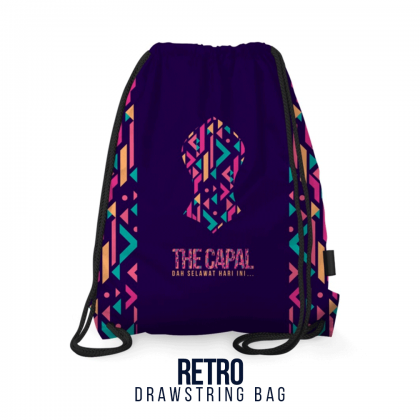 Drawstring Bag Retro