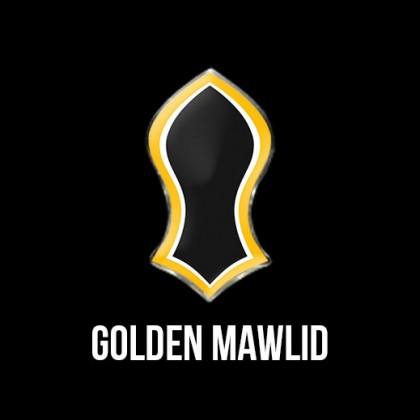 Press Pin Golden Mawlid