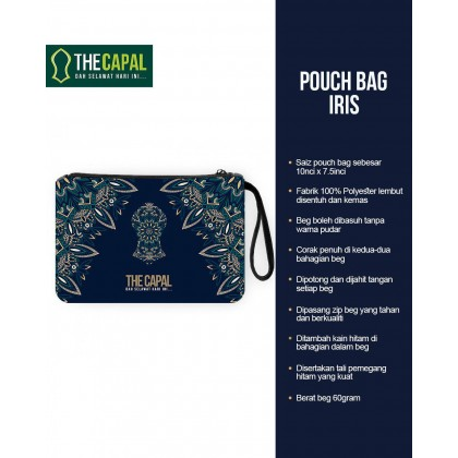 Pouch Bag Iris