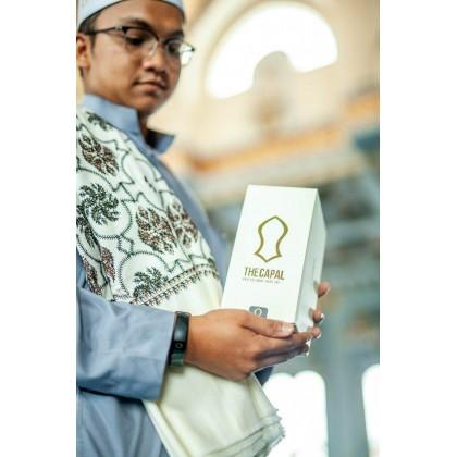 Kopiah Muzakkir The Capal [White Gold]