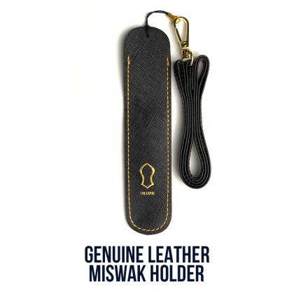 Miswak Leather Holder