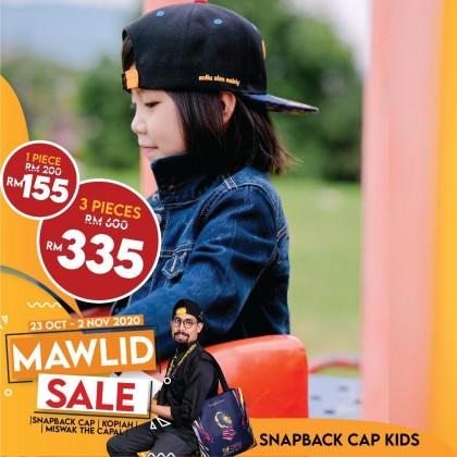 Snapback Cap The Capal X Don Daniyal Merdeka Special Edition 2020