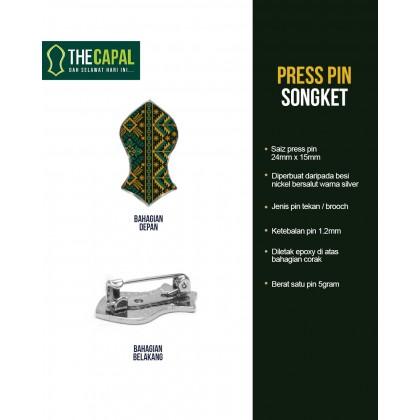 Press Pin Songket 2021
