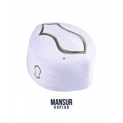 Kopiah Mansur The Capal [White Silver]