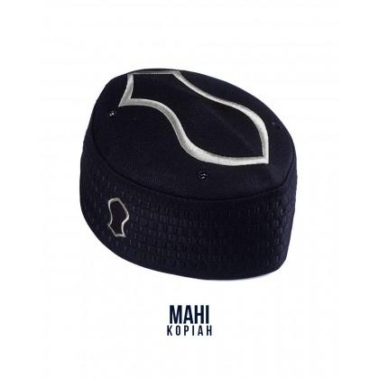 Kopiah Mahi The Capal [Black Silver]