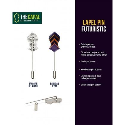 Lapel Pin Futuristic 2021